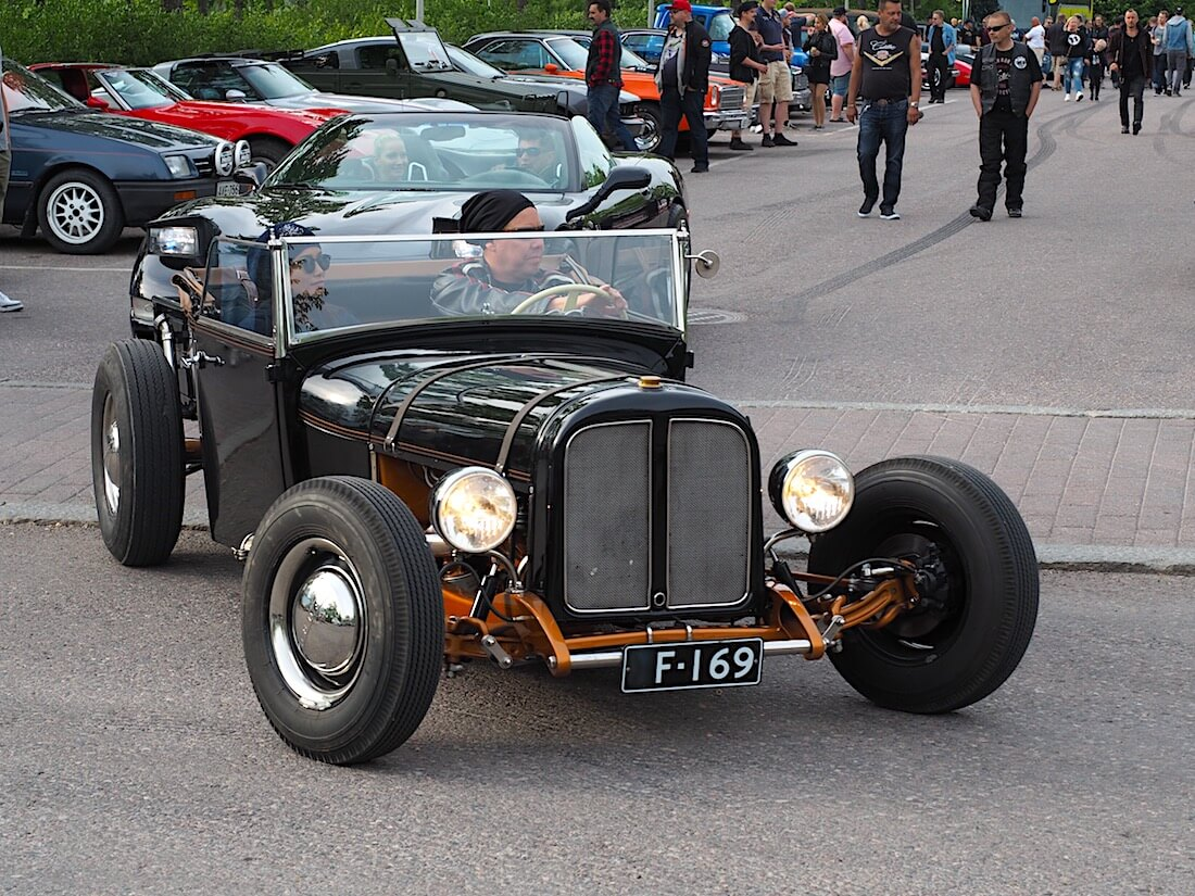 1928 Ford A Model Roadster pickup. Tekijä: Kai Lappalainen, lisenssi: CC-BY-40.