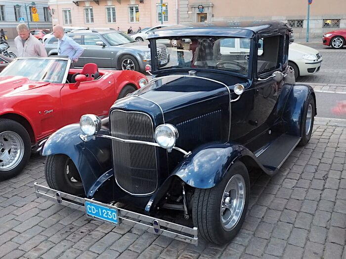 1930 Ford Model A 5w coupe. Kuva: Kai Lappalainen, lisenssi: CC-BY-40.