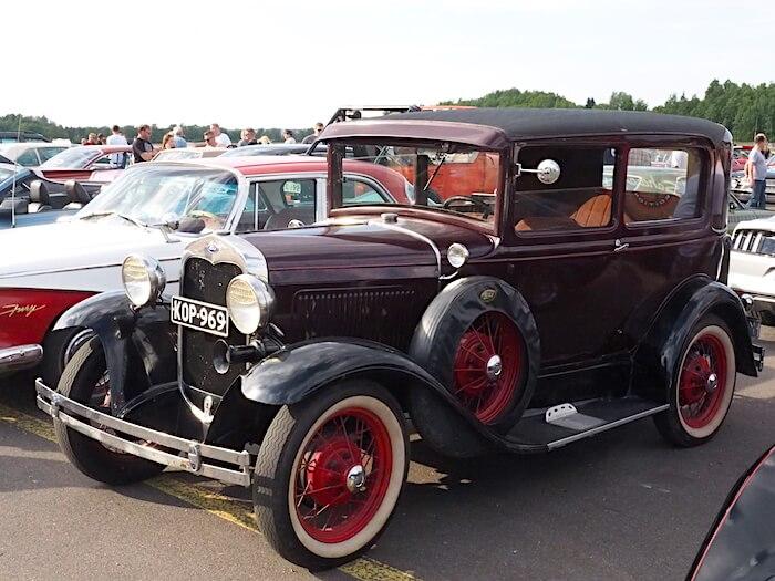 1930 Ford Model A. Kuva: Kai Lappalainen, lisenssi: CC-BY-40.
