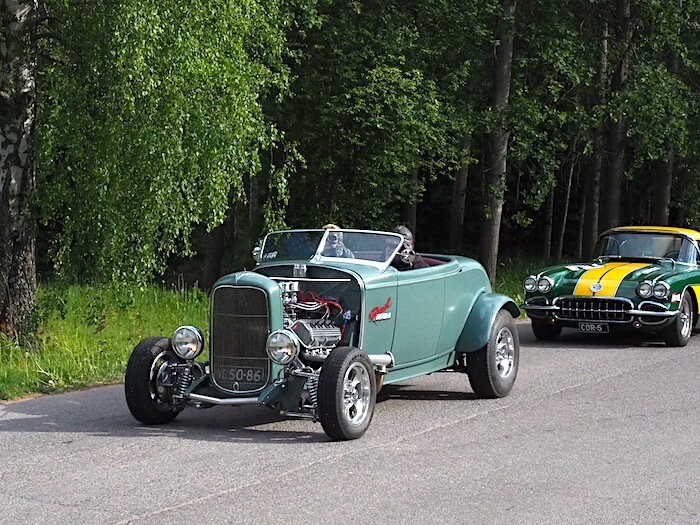 1932 Ford Roadster. Kuva: Kai Lappalainen, lisenssi: CC-BY-40.