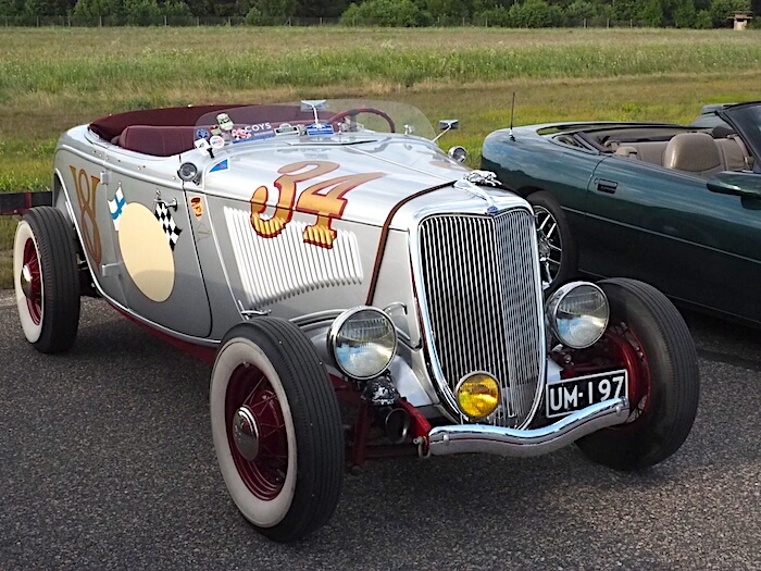 1934 Ford Roadster. Kuva: Kai Lappalainen, lisenssi: CC-BY-40.