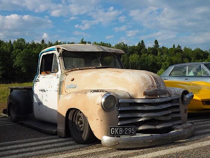 1951 Chevrolet 3100 patina pickup. Kuva: Kai Lappalainen, lisenssi: CC-BY-40.