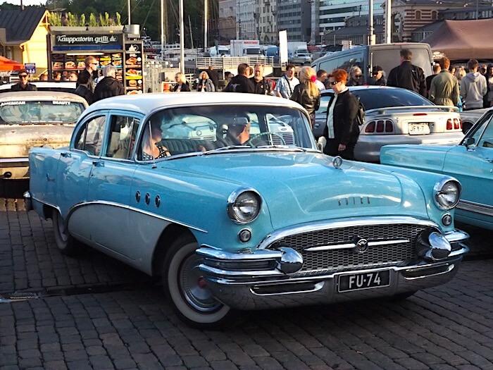 1955 Buick Special. Kuva: Kai Lappalainen, lisenssi: CC-BY-40.