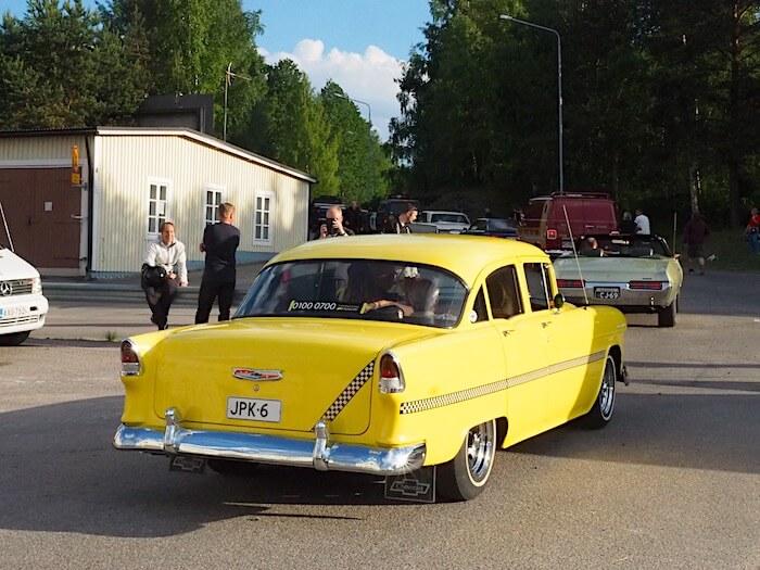 1955 Chevrolet 150 4d sedan. Kuva: Kai Lappalainen, lisenssi: CC-BY-40.