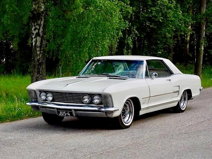 1963 Buick Riviera sport. Kuva: Kai Lappalainen, lisenssi: CC-BY-40