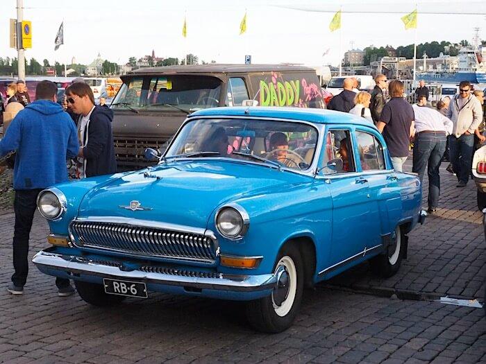 1964 GAZ21 Volga. Kuva: Kai Lappalainen, lisenssi: CC-BY-40.