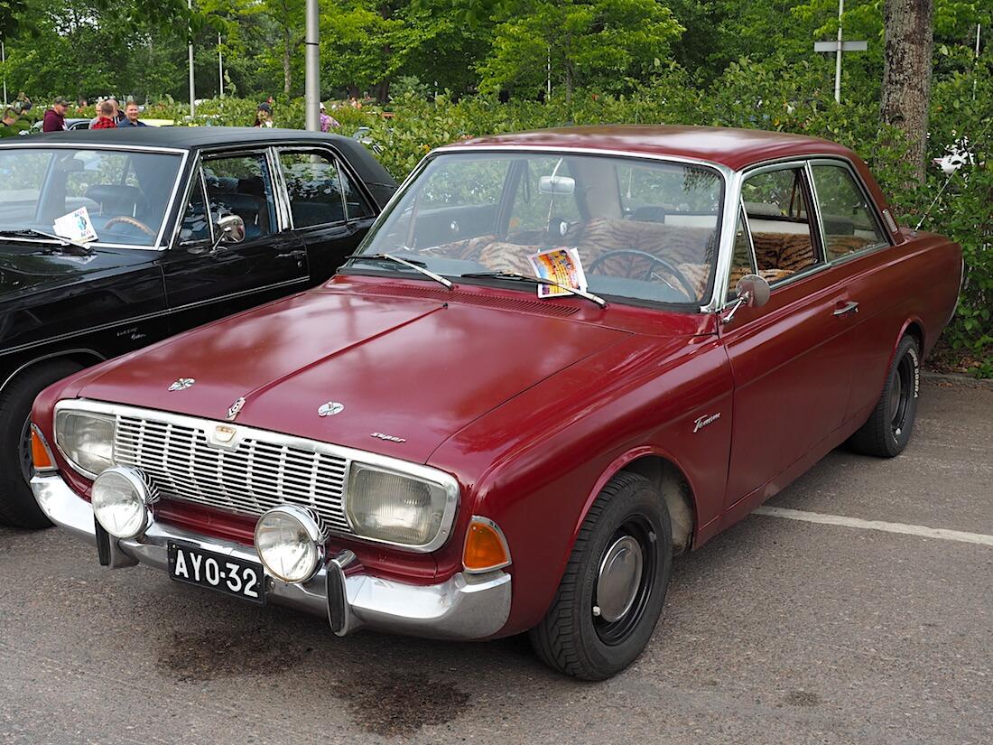 1965 Ford Taunus 2d. Tekijä: Kai Lappalainen, lisenssi: CC-BY-40.