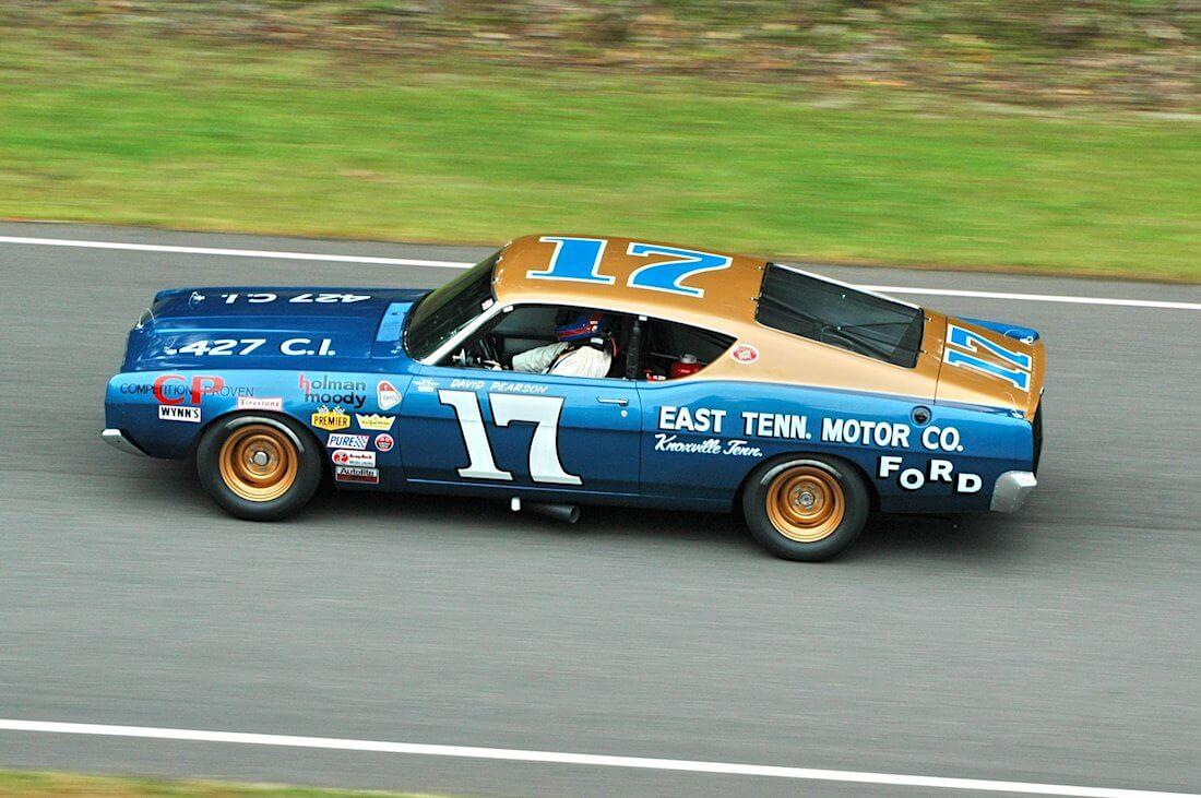 1968 Ford Torino Holman&Moody kilpa-auto. Kuva: Jim Culp, lisenssi: CCBYNC20.
