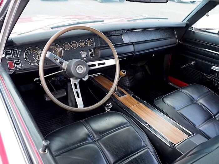 1969 Dodge Charger R/T nahkasisusta. Kuva: Kai Lappalainen, lisenssi: CC-BY-40.