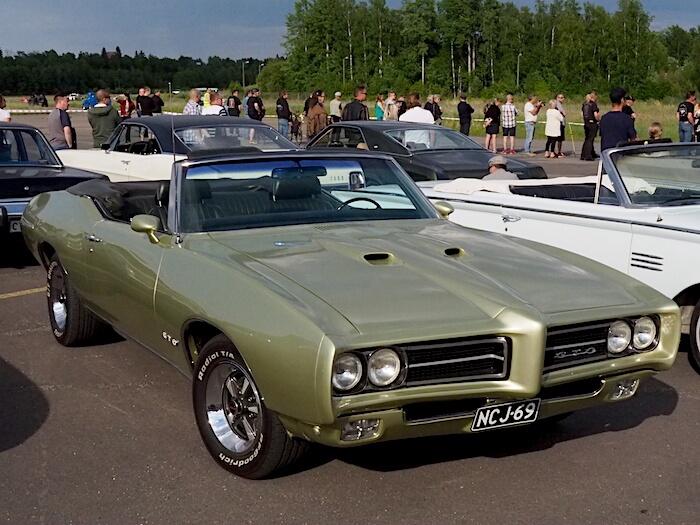 1969 Pontiac GTO convertible. Kuva: Kai Lappalainen, lisenssi: CC-BY-40.