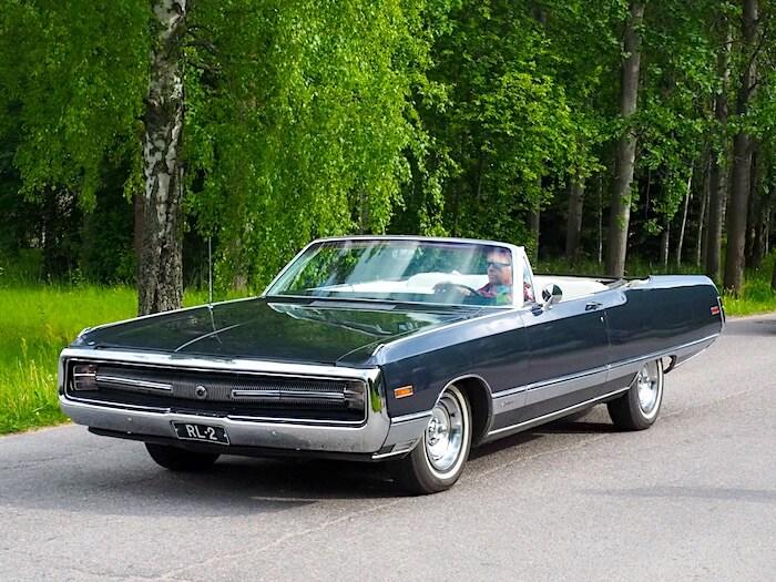 1970 Chrysler 300 convertible. Kuva: Kai Lappalainen, lisenssi: CC-BY-40.