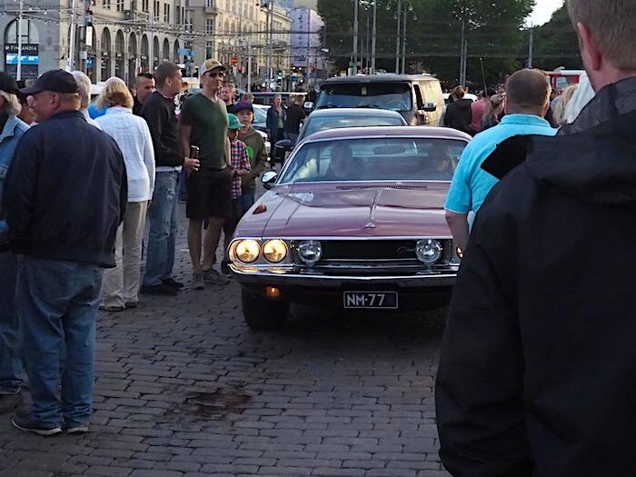 1970 Dodge Challenger. Kuva: Kai Lappalainen, lisenssi: CC-BY-40.