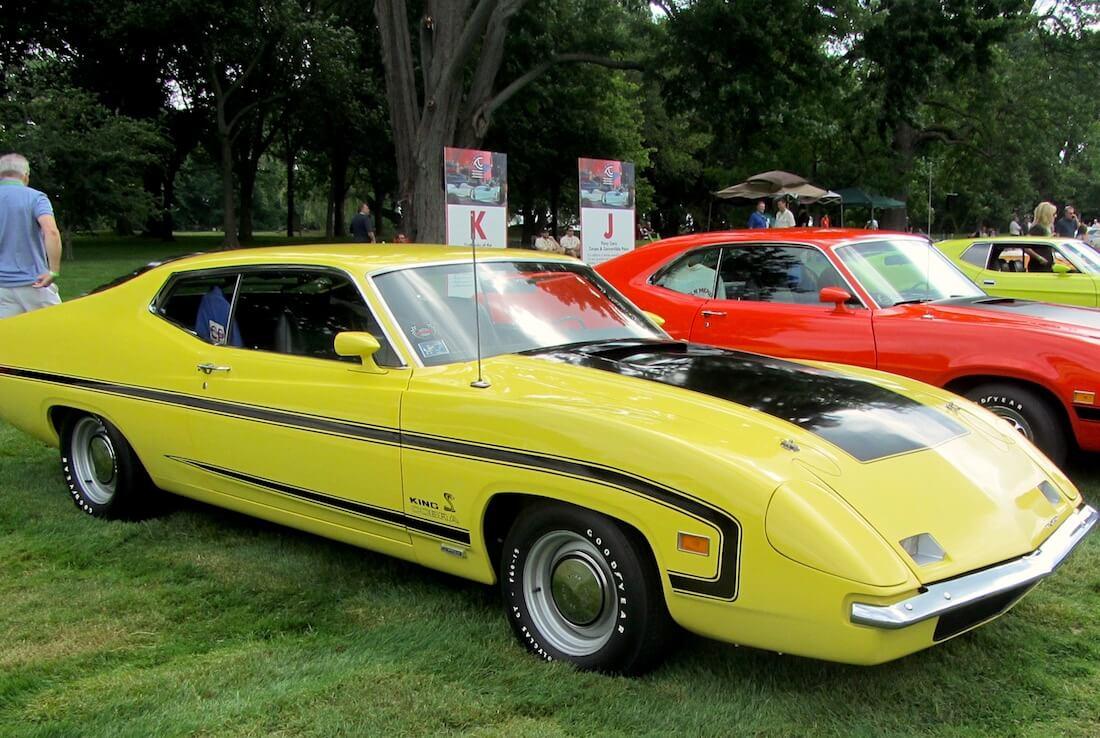 1969/70 Ford Torino King Cobra. Kuva: John Lloyd, lisenssi: CCBY20.