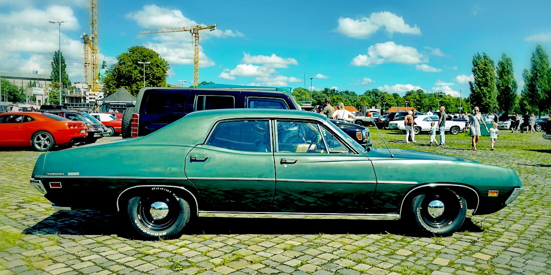 1971 Ford Torino 500. Kuva: More Cars, lisenssi: CCBY20.