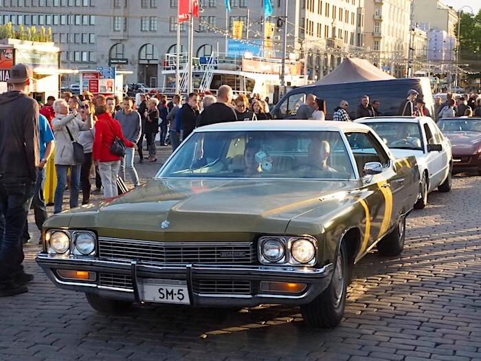 1972 Buick Electra Custom. Kuva: Kai Lappalainen, lisenssi: CC-BY-40.