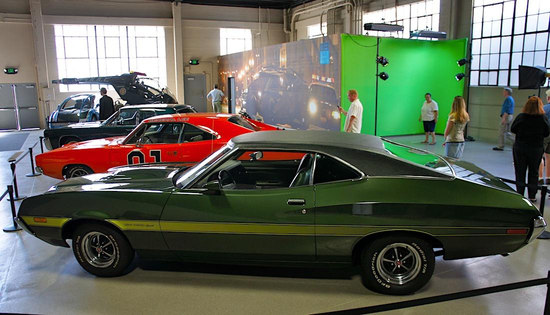 Clint Eastwoodin 1972 Ford Gran Torino. Tekijä: Michelle Van Gerven, lisenssi: CC-BY-NC-20.