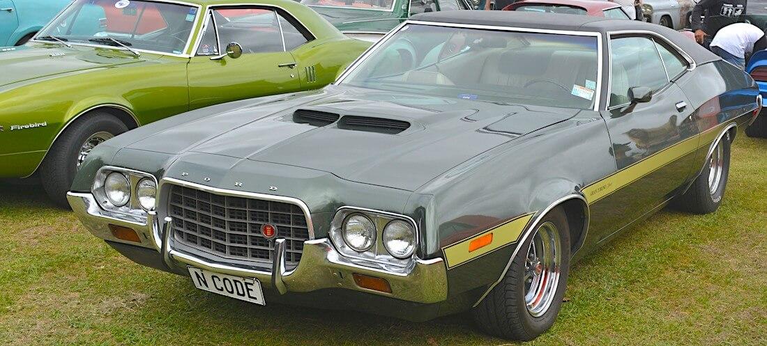 1972 Ford Gran Torino Fastback. Tekijä: GPS 56, lisenssi: CC-BY-20.