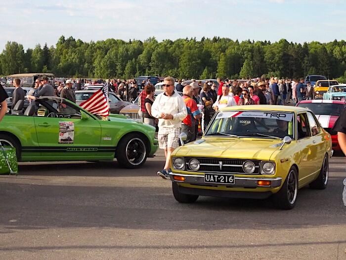 1973 Toyota Carina 1600. Kuva: Kai Lappalainen, lisenssi: CC-BY-40.