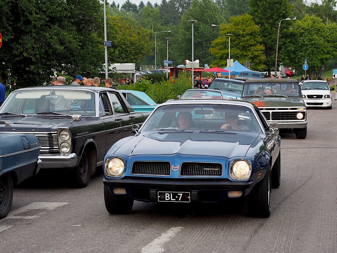 1974 Pontiac Firebird Sport Coupe. Tekijä: Kai Lappalainen, lisenssi: CC-BY-40.