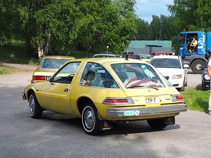 1976 AMC Pacer 232cid. Kuva: Kai Lappalainen, lisenssi: CC-BY-40.