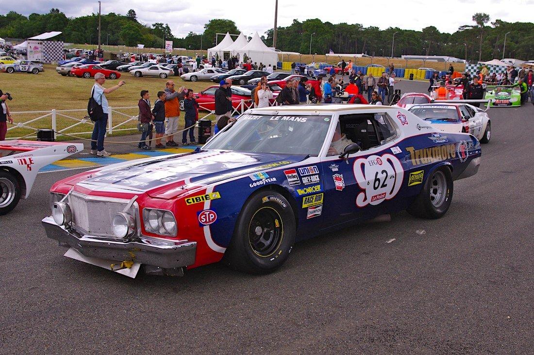 1976 Ford Gran Torino Nascar LeMans. Tekijä: David Merrett, lisenssi: CCBY20.
