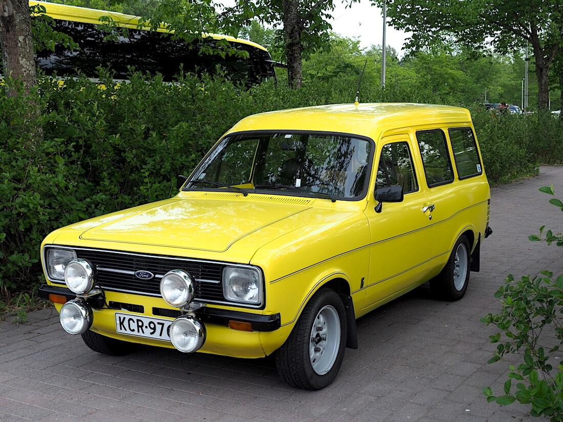 1979 Ford Escort pakettiauto. Tekijä: Kai Lappalainen, lisenssi: CC-BY-40.