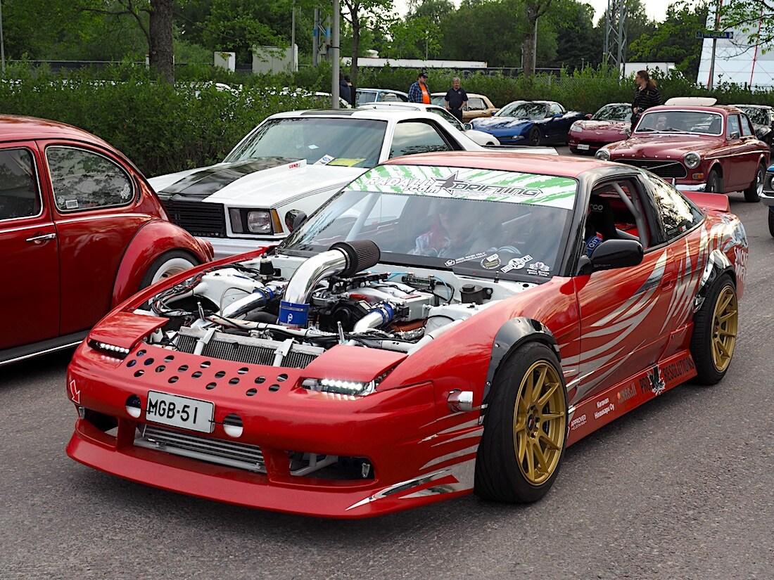 1989 Nissan 200SX 1.8 turbo.. Tekijä: Kai Lappalainen, lisenssi: CC-BY-40.
