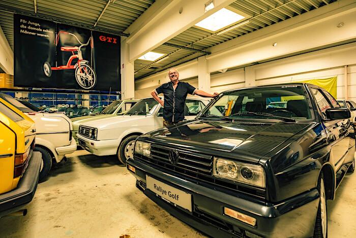 Golfstrudel Rallye Golf. Tekijä ja copyright: Volkswagen AG.