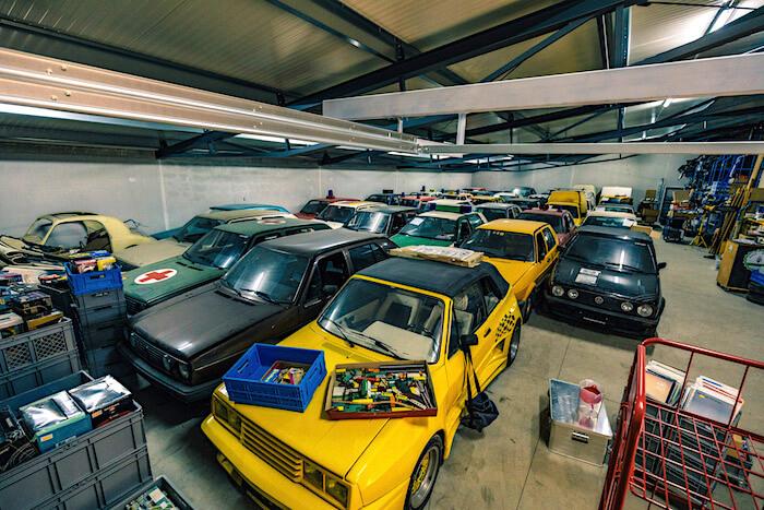 Golfstrudelin GOlf II kokoelma. Tekijä ja copyright: Volkswagen AG.