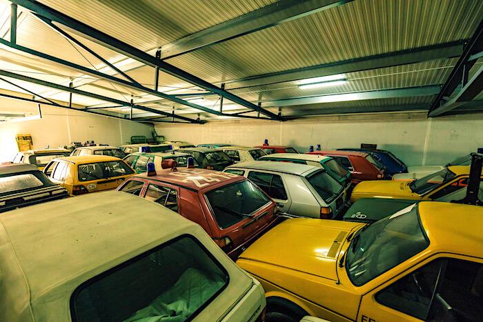 Golfstrudel kokoelman viranomais-Golfeja. Tekijä ja copyright: Volkswagen AG.