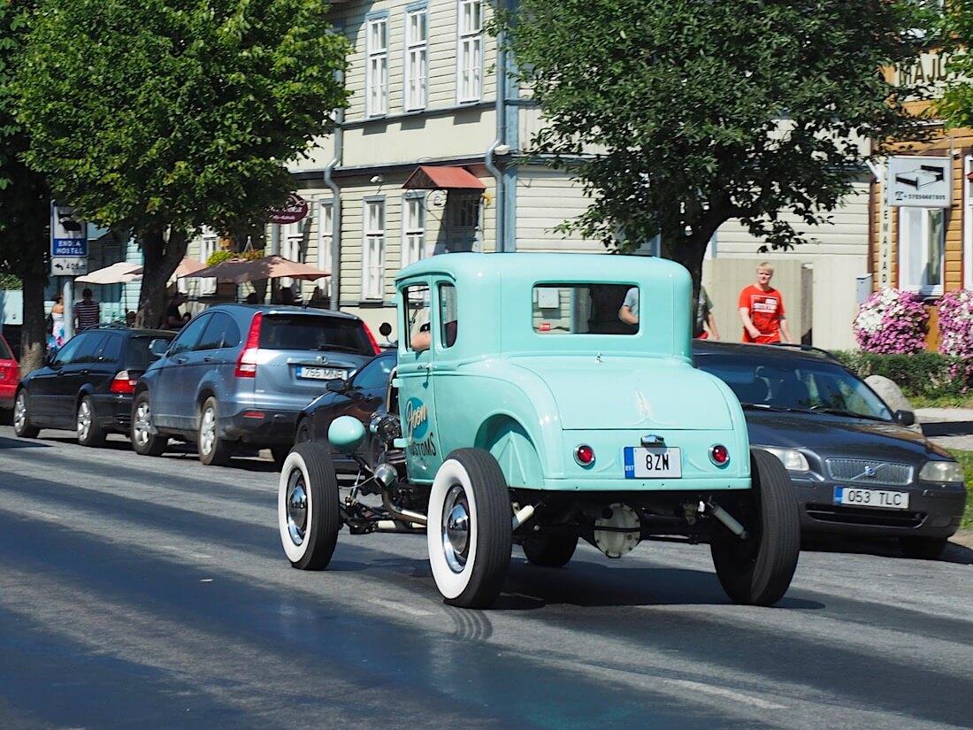 1931 Ford Model A rodi kadulla. Tekijä: Kai Lappalainen, lisenssi: CC-BY-40.