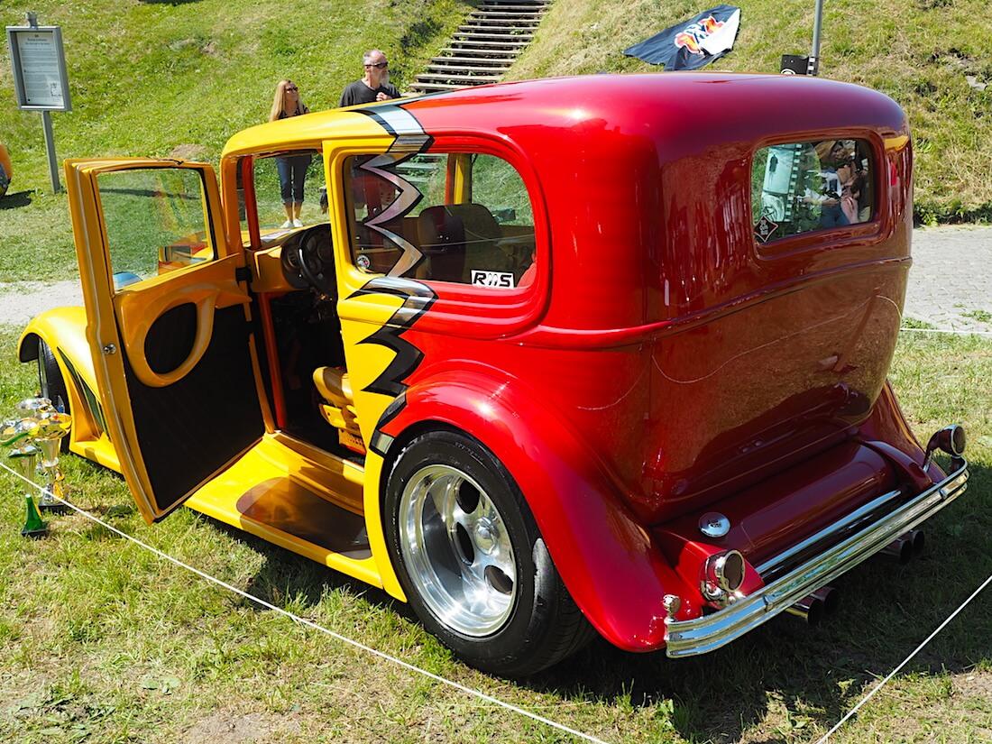 1932 Ford Turdor 355cid rodi. Tekijä: Kai Lappalainen, lisenssi: CC-BY-40.