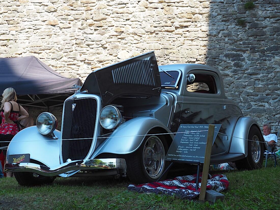 1934 Ford 3-Window coupe 350cid. Tekijä: Kai Lappalainen, lisenssi: CC-BY-40.