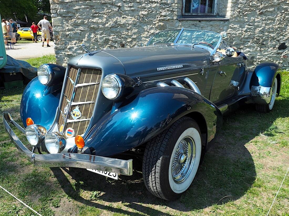 1936 Auburn 876 Speedster Boattail. Tekijä: Kai Lappalainen, lisenssi: CC-BY-40.