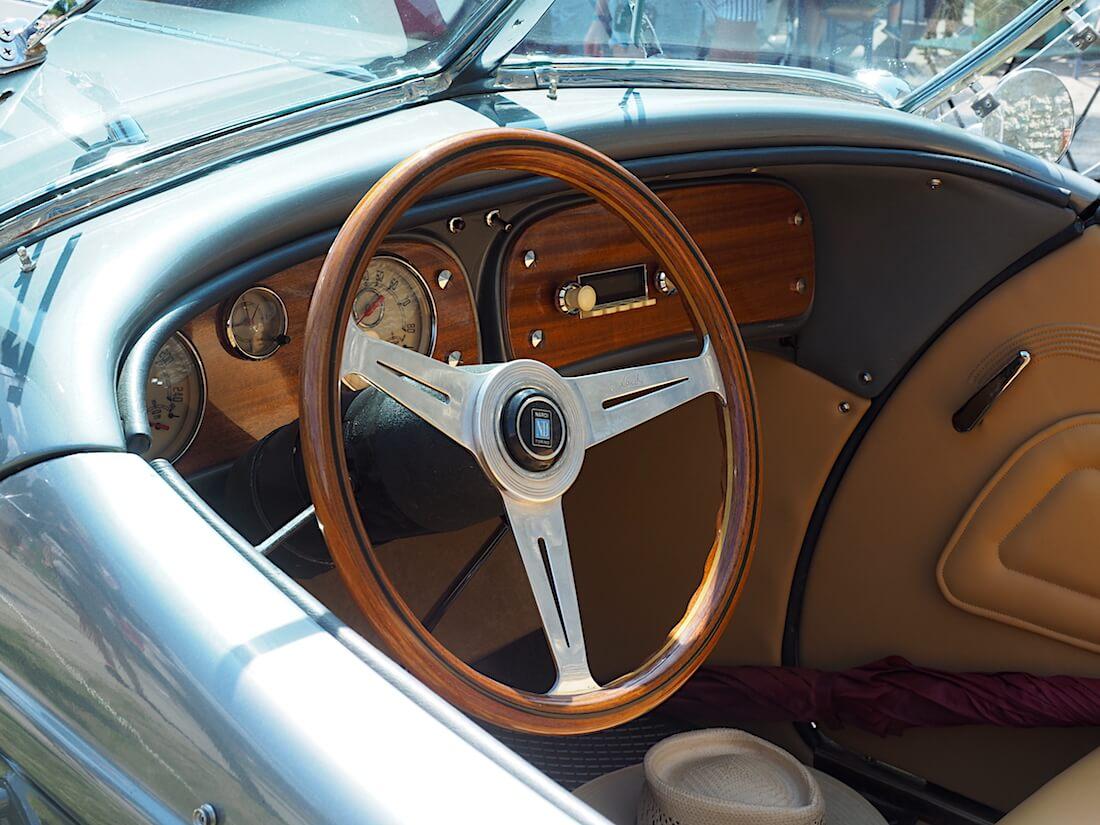 1936 Auburn 876 Speedster Boattailin sisusta. Tekijä: Kai Lappalainen, lisenssi: CC-BY-40.