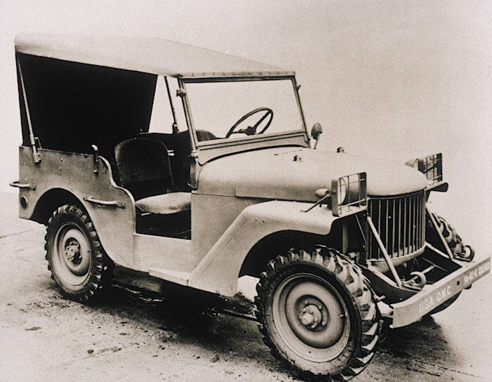 1940 Willys Quad prototyyppi. Tekijä: Fiat Chrysler Automobiles US Media.