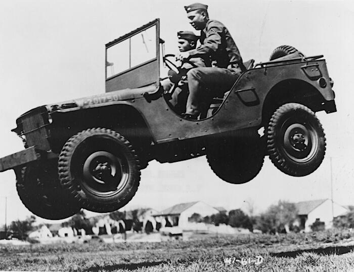 1941 Ford GP General Purpose Pygmy. Tekijä: Yhdysvaltain armeija, lisenssi: Public domain.