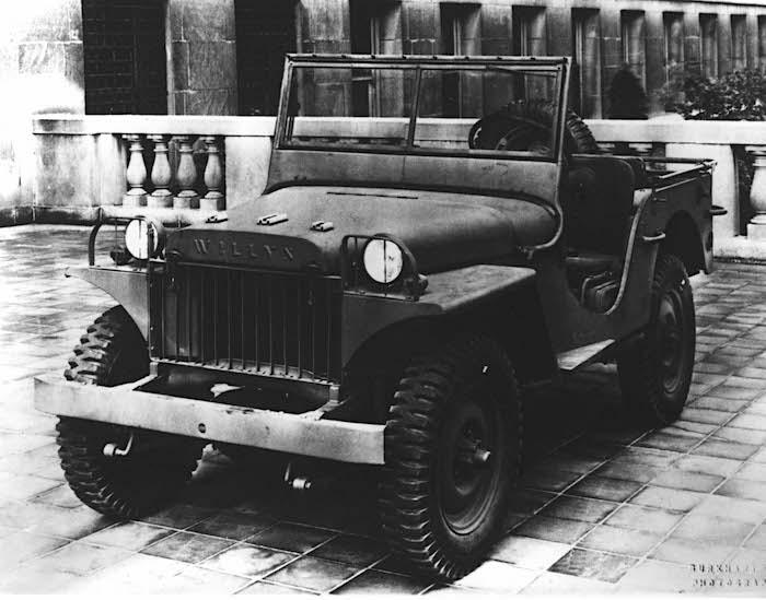 1941 Willys MA voitti armeijan tarjouskilpailun. Tekijä: Fiat Chrysler Automobiles US Media.