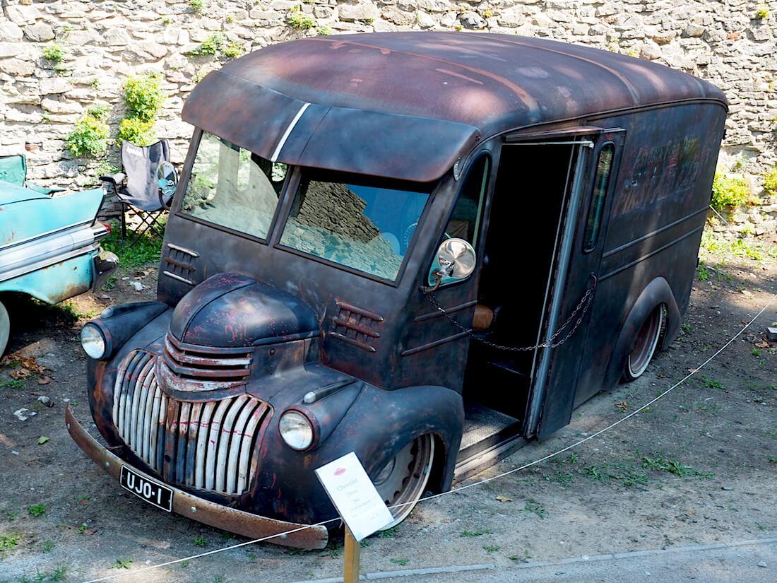 1942 Chevrolet Divco custom. Tekijä: Kai Lappalainen, lisenssi: CC-BY-40.