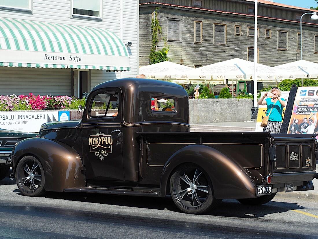 Ford 1946 Halfton Pickup custom. Tekijä: Kai Lappalainen, lisenssi: CC-BY-40.