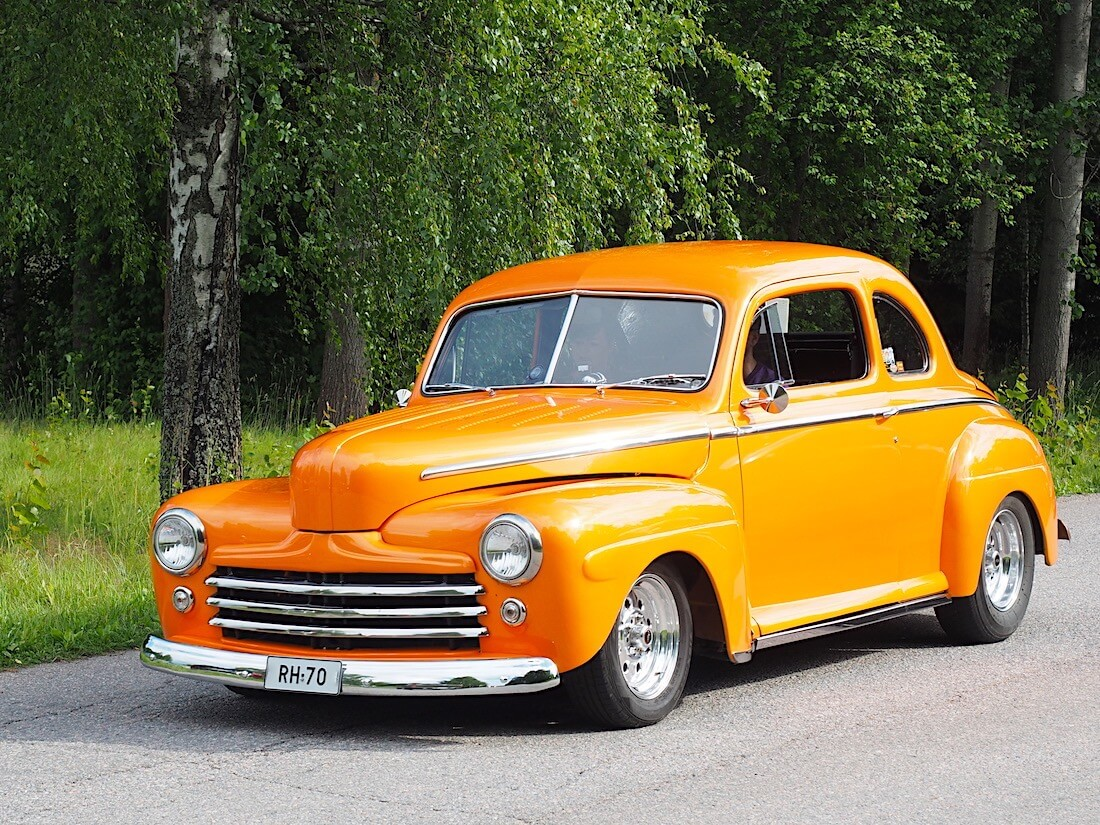1948 Ford Sedan Custom. Tekijä: Kai Lappalainen, lisenssi: CC-BY-40.