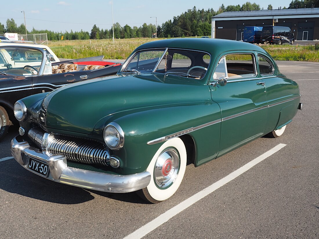 1950 Mercury Eight Coupe. Tekijä: Kai Lappalainen. Lisenssi: CC-BY-40.