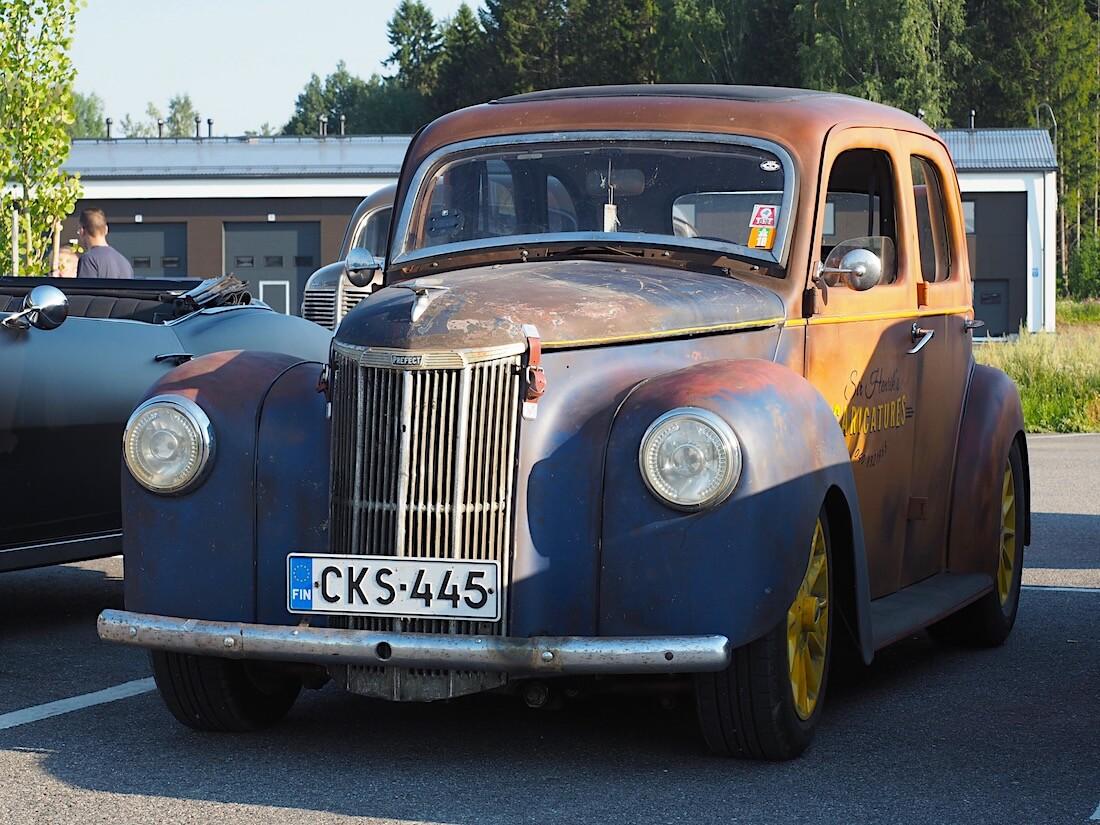 1952 Ford Prefect custom. Tekijä: Kai Lappalainen. Lisenssi: CC-BY-40.