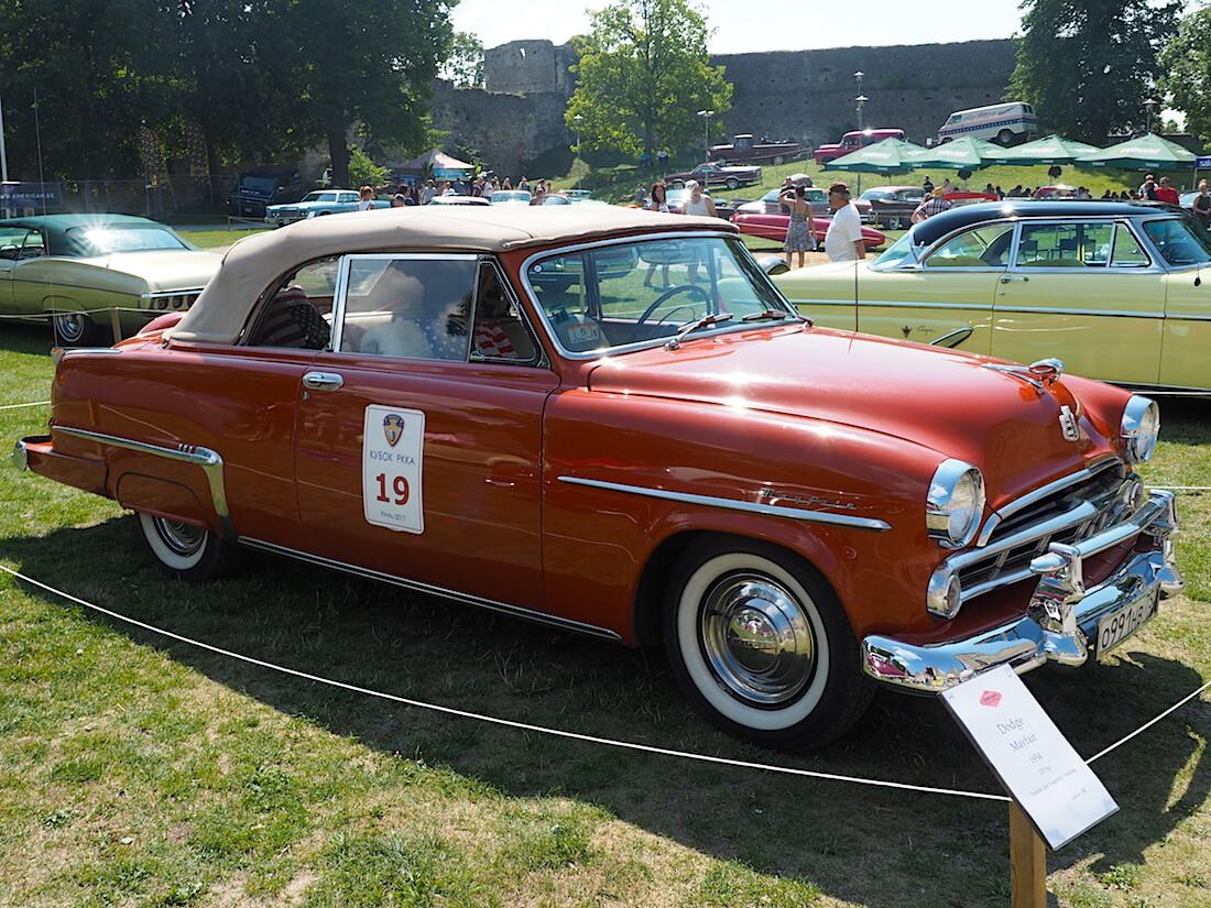 1954 Dodge Mayfair. Tekijä: Kai Lappalainen, lisenssi: CC-BY-40.