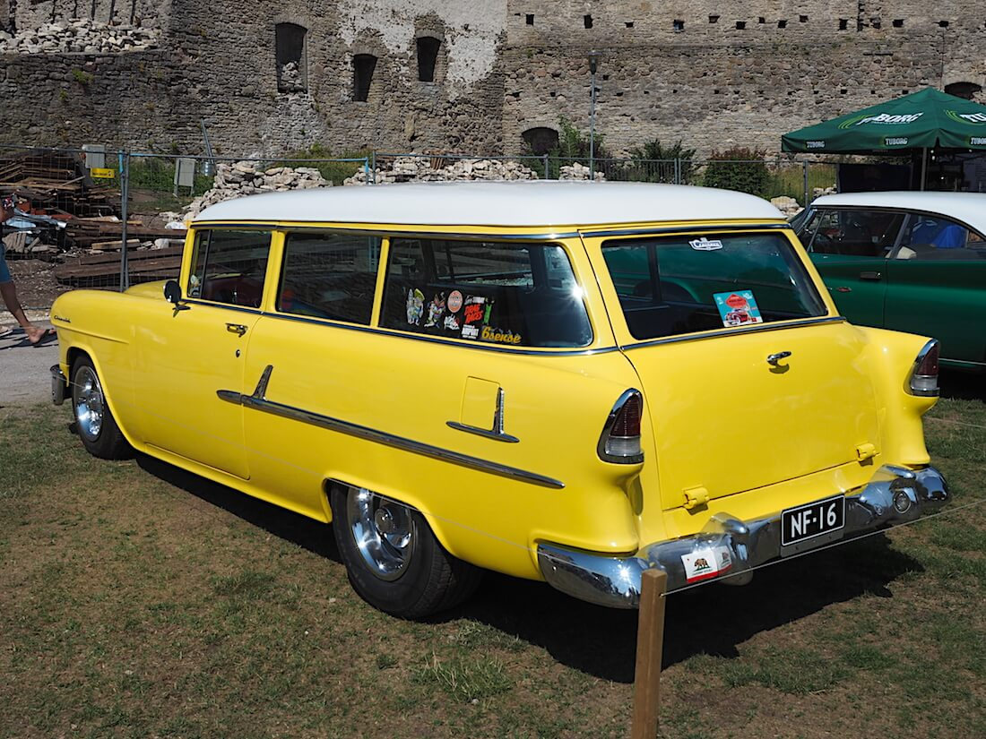 1955 Chevrolet 210 HandyMan 327cid V8. Tekijä: Kai Lappalainen, lisenssi: CC-BY-40.