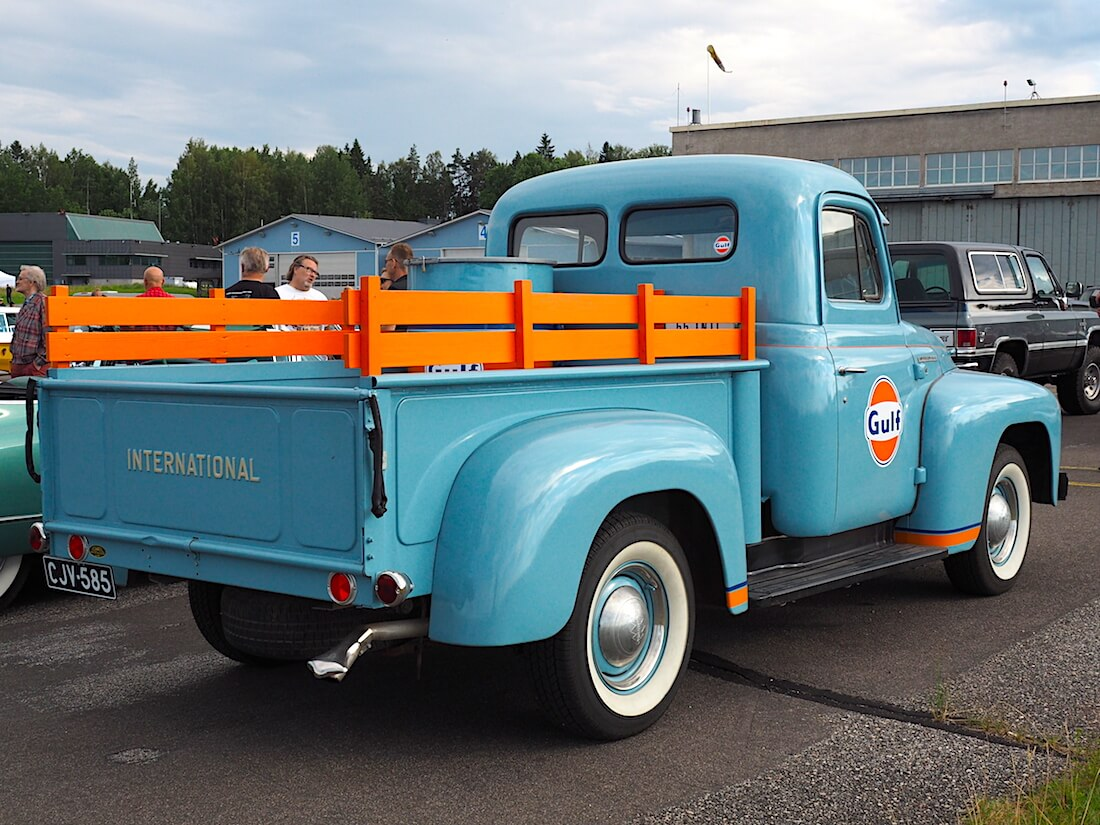 1955 International R100 Pickup. Tekijä: Kai Lappalainen, lisenssi: CC-BY-40.