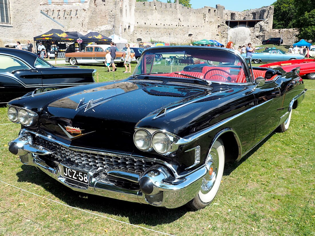 1958 Cadillac Eldorado Biarritz. Tekijä: Kai Lappalainen, lisenssi: CC-BY-40.