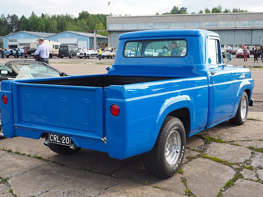 1959 Ford F100 pickup custom. Tekijä: Kai Lappalainen, lisenssi: CC-BY-40.
