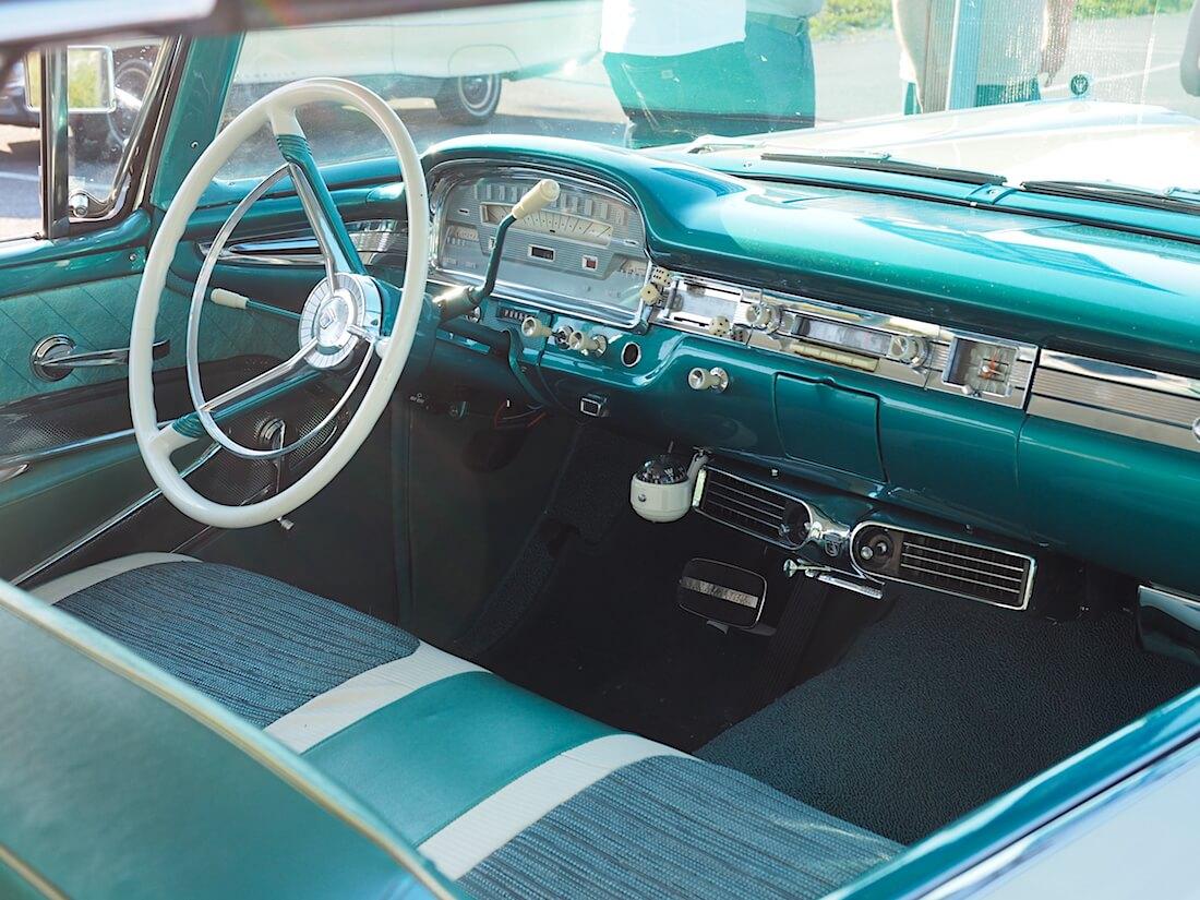 1959 Ford Fairline Galaxie alkuperäisellä Select Aire ilmastoinnilla. Tekijä: Kai Lappalainen. Lisenssi: CC-BY-40.