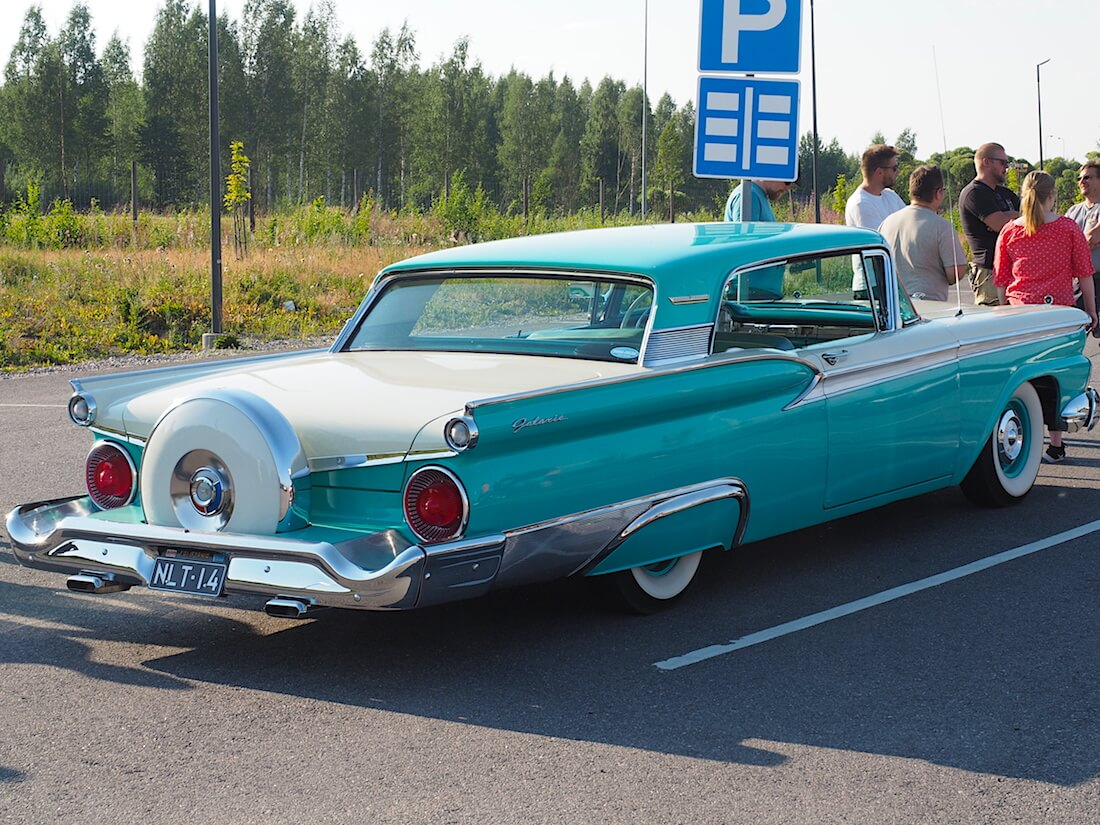 1959 Ford Fairline Galaxie. Tekijä: Kai Lappalainen. Lisenssi: CC-BY-40.